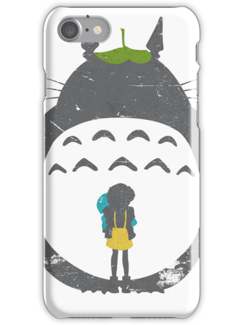 Totoro Silhouette by Gingerbredmanny