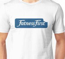 Fatness First Parody Unisex T-Shirt