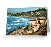 Palos Verdes California Greeting Card