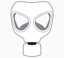 ZOMBIE APOCALYPSE GASMARK by Zombie Ghetto One Piece - Short Sleeve