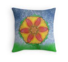 Odd Flower Throw Pillow