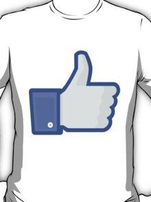Facebook 'like' button T-Shirt