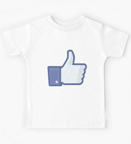 Facebook 'like' button Kids Tee