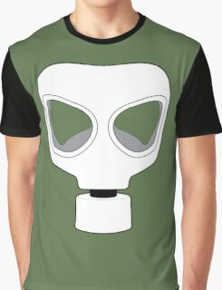 ZOMBIE APOCALYPSE GASMARK by Zombie Ghetto Graphic T-Shirt