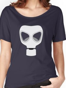 ZOMBIE APOCALYPSE GASMARK by Zombie Ghetto Women's Relaxed Fit T-Shirt