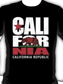 California Republic (vintage distressed look) T-Shirt