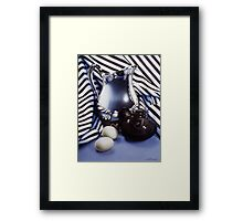 Silver Pitcher Framed Print