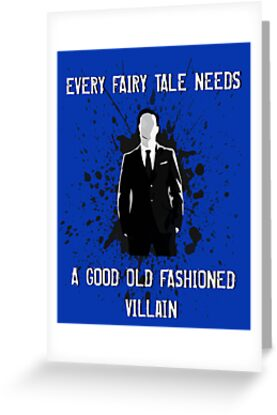 Every Fairy Tale Needs A Good Old Fashioned Villain by geekygirl37