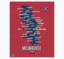 Milwaukee Map 1 by youknowsimone