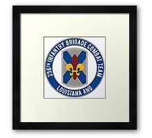 256th Infantry LA ANG Framed Print