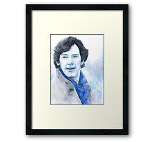 Benedict Cumberbatch - Sherlock Framed Print