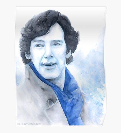 Benedict Cumberbatch - Sherlock Poster