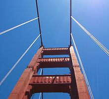 Golden Gate Bridge 2 by Lauren McGregor