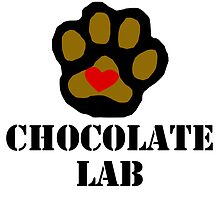 I Love My Chocolate Lab by kwg2200
