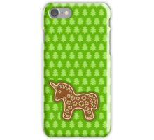 Gingerbread Unicorn iPhone Case/Skin