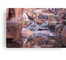 Adobe Falls Canvas Print