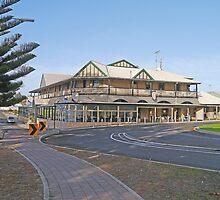 Ozone Hotel, Kingscote, Kangaroo Is., Australia by Margaret  Hyde