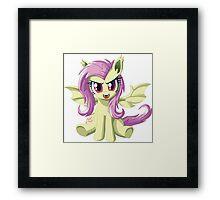 Flutterbat Framed Print