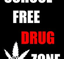 Drug Free School Zone by JoeyMercado15