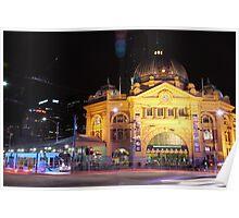 Flinders Street Eve Poster