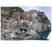 Scene of Cinque Terre Poster