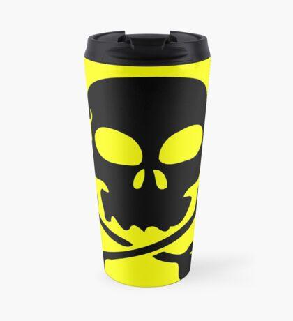 SKULL AND CROSSBONES by Zombie Ghetto Travel Mug