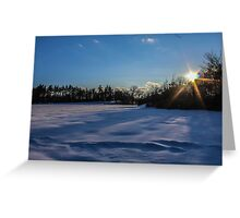 Sunburst of Bliss Greeting Card