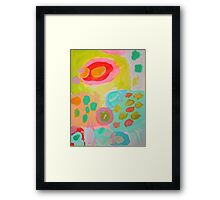 candy kisses Framed Print