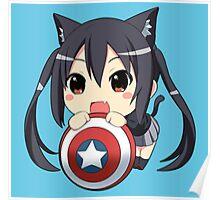 Chibi America Poster