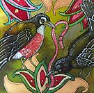 Turf War (Fat Robins) by Lynnette Shelley
