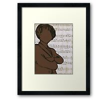 The Concert Critic Framed Print