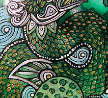 Green Sea Dragon by Lynnette Shelley