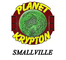 Planet Krypton - Smallville Photographic Print