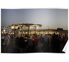 Marrakech Markets Poster
