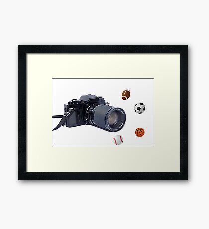 Sports Picture Framed Print