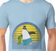 Northern Rockhopper Penguin on Spring Break Unisex T-Shirt
