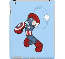Patriotic to the Finish (iPad) iPad Case/Skin