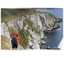 Dramatic Cliffs Poster
