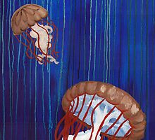 Sea Nettle Jellyfish by Kaitlee Venable