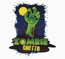 ZOMBIE GHETTO OFFICIAL LOGO DESIGN One Piece - Short Sleeve