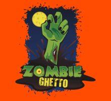ZOMBIE GHETTO OFFICIAL LOGO DESIGN Kids Tee