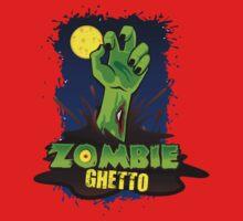ZOMBIE GHETTO OFFICIAL LOGO DESIGN One Piece - Long Sleeve
