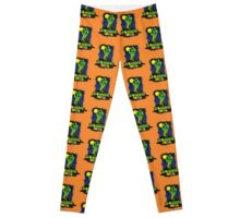 ZOMBIE GHETTO OFFICIAL LOGO DESIGN Leggings