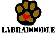 I Love My Labradoodle by kwg2200
