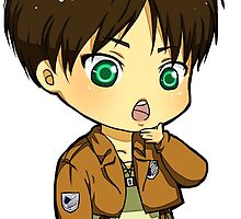 Chibi Eren by EndouHemel