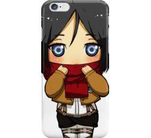 Chibi Mikasa iPhone Case/Skin