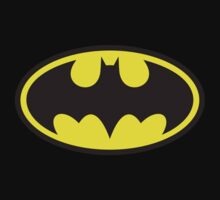 Batman Logo (Regular) Kids Clothes