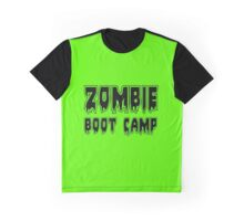 ZOMBIE BOOT CAMP by Zombie Ghetto Graphic T-Shirt
