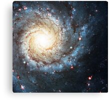 ONE Messier 74 Nebula   Fresh Universe Canvas Print