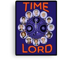 Time Lord - doctor who Canvas Print